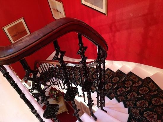 Eyre Guest House :                   лестница в отеле