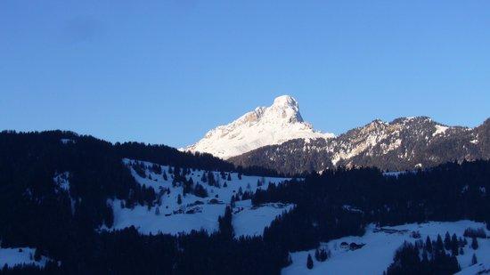 Hotel Alpenrose :                   Blick vom Balkon