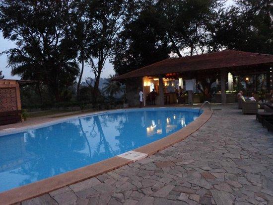 Hotel Thilanka: Pool + bar