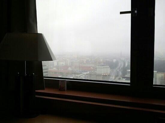 Park Inn by Radisson Berlin Alexanderplatz:                   view