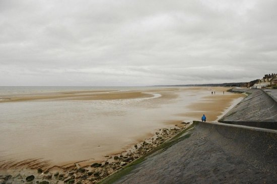D-Day Beaches (Plages du Debarquement de la Bataille de Normandie):                   Omaha beach