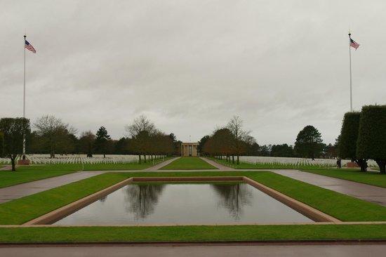 D-Day Beaches (Plages du Debarquement de la Bataille de Normandie):                   American cemetery