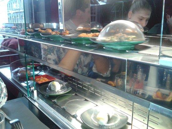 Wasabi Running Sushi & Wok Restaurant : running sushi and wok 1