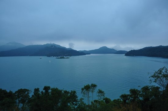 The Lalu Sun Moon Lake:                   View from room