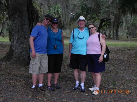 Spirit of the Swamp Airboat Tours: On the Island