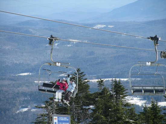 Okemo Mountain Resort:                   Nice view