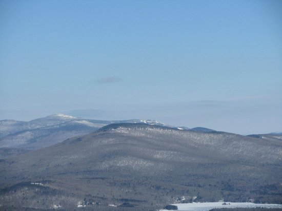Okemo Mountain Resort:                   The top of that other resort in the distance