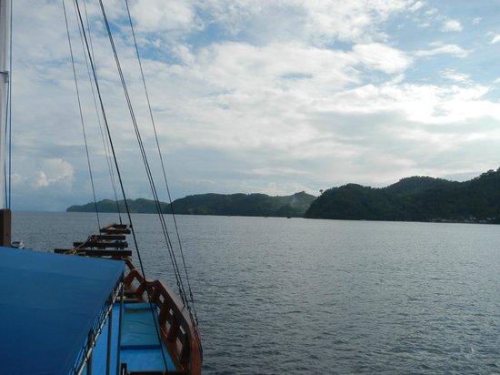 Blue Bay Divers:                   nice view of Halmahera