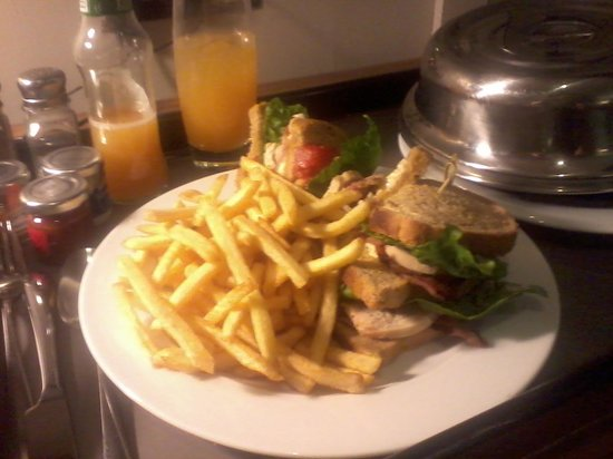 Apex Waterloo Place Hotel:                   The biggest club sandwich I've ever eaten!