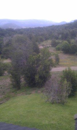 Peñón del Lolog Apart:                                     vista desde la cabaña