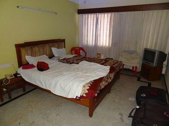 Hotel Chandra Palace:                   la chambre