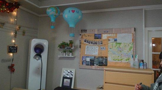 U & I Hostel:                   It's U&I hostel's play area