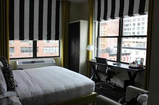 The Marcel at Gramercy: lots of windows in the room!