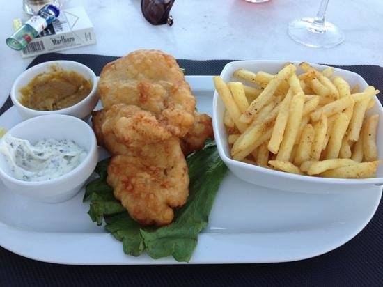 Maritim Restaurant:                                     fish & chips
