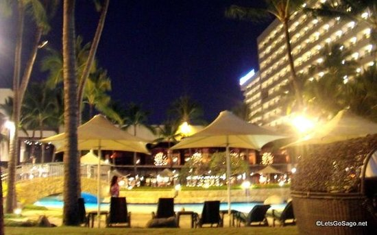 Sofitel Philippine Plaza Manila:                   Laggon Pool Area