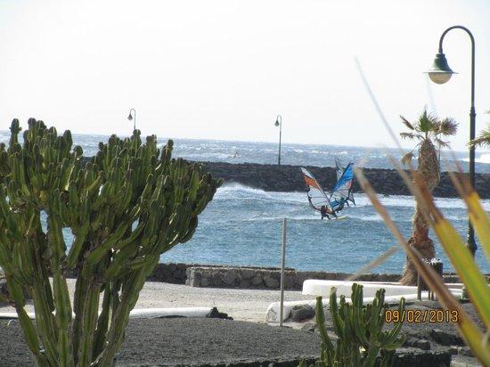 Sands Beach Resort:                   Windsurfers
