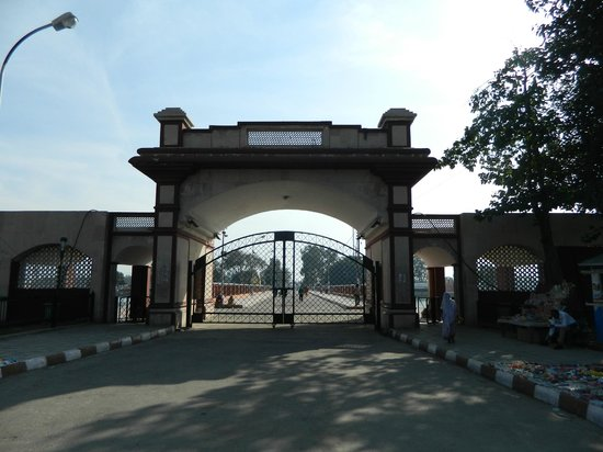 Kurukshetra, India: Central entrance gate