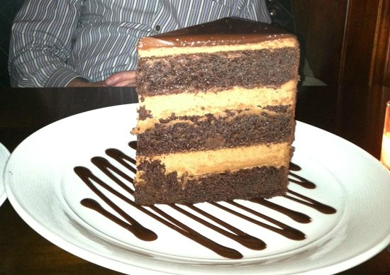 Roots Steakhouse:                   Chocolate Tower Cake Mmmm Good!