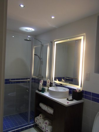 blu St Lucia :                   standard all bathrooms will be after refurbishment