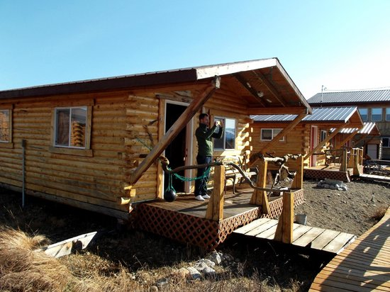 EarthSong Lodge - Denali's Natural Retreat:                   Our Cabin