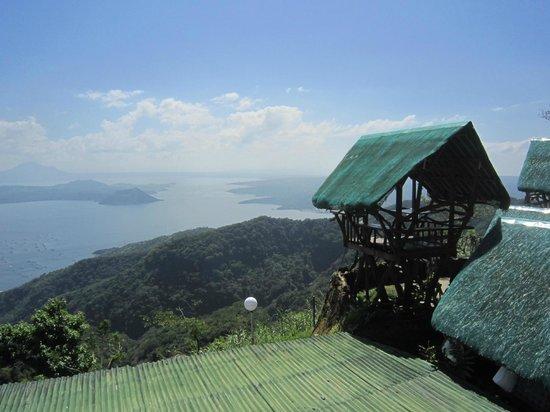 Batangas Province, Filipinas:                                     вид со смотровой