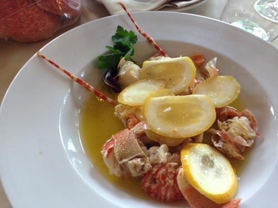 Ristorante Trattoria Nalin:                   aragosta al limone...