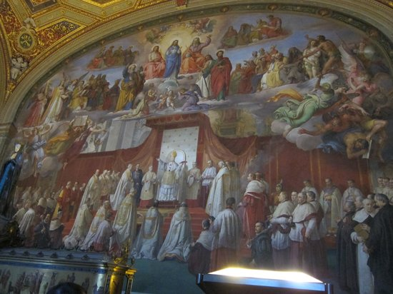 a description of the sistine chapel ceiling as the most amazing painting of all time Michelangelo painted the creation on the sistine chapel ceiling the sistine chapel is most famous for yet this was the first time god had been.