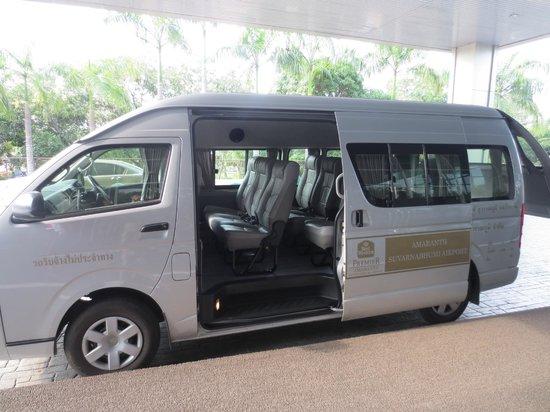 Best Western Premier Amaranth Suvarnabhumi Airport: Free Airport Shuttle