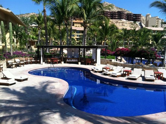Grand Fiesta Americana Los Cabos All Inclusive Golf & Spa:                   One of the blue tile pools