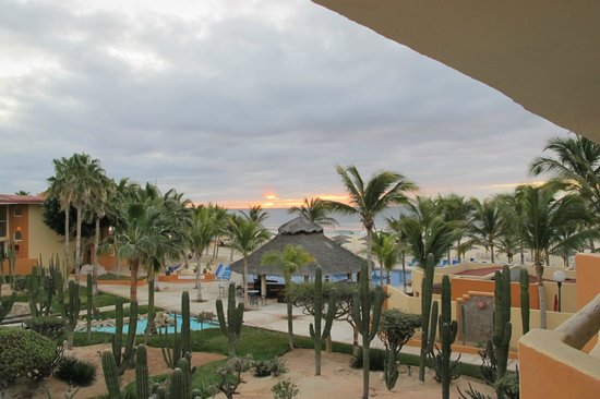 Posada Real Los Cabos: View from balcony