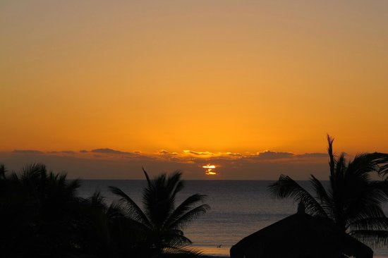 Posada Real Los Cabos: Sunrise view from the balcony