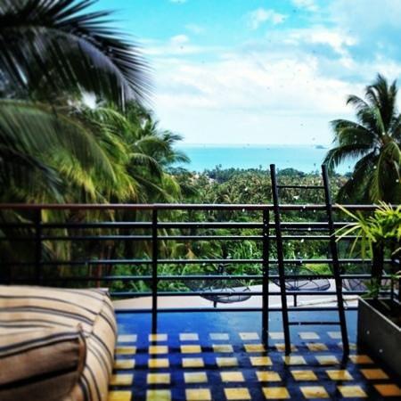 Mantra Samui Resort:                                     from balcony