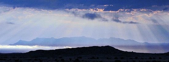 Damaraland, Namibia:                                                       Brandberg from a distance