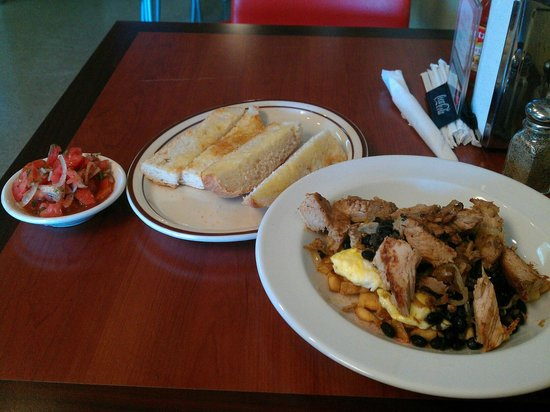 Nani's Restaurant:                                     If you get lucky and they are open for a breakfast special :