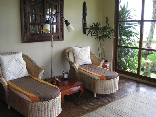Sanda Butik Villas:                   the porch