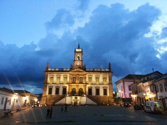 Basilica of Nossa Senhora do Pilar:                   musée église ouro preto