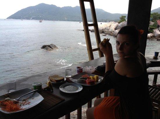 Charm Churee Villa:                   Il ristorante per la colazione