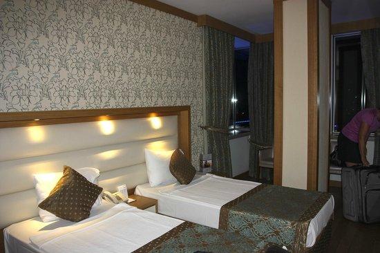 Oz Hotels Antalya Resort & Spa:                   La chambre