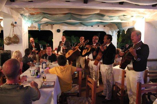 Bar Oceano Rock & Roll:                   Happy Birthday To You.... Mariachee Style