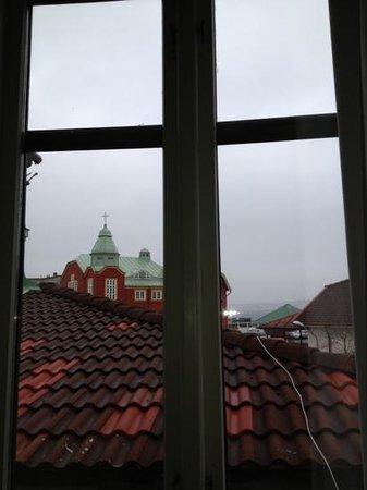 Grand Hotel Lysekil:                   härlig utsikt från fönstret.
