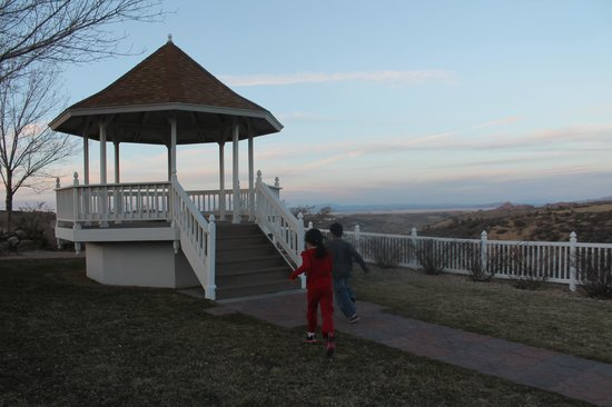 Prescott Resort & Conference Center:                   gazebo at side of hill