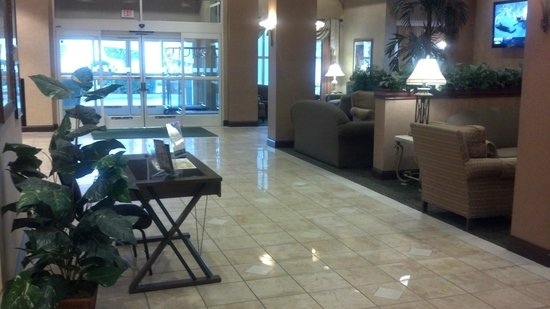 Holiday Inn Hotel & Suites St. Augustine/Historical District: Very nice and clean lobby