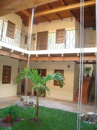 Hotel Tres Piedras: Vista intena hotel