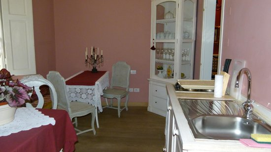 La Dimora del Centro:                   Mini Cozinha