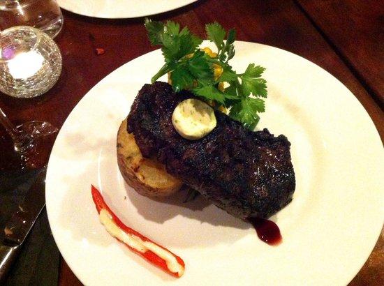 Sinclair's Steakhouse :                   New York Strip Loin