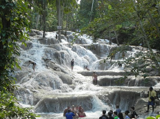 Dunn's River Falls and Park : The falls