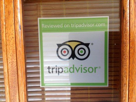 Villa Punta Salina: Tripadvisor Sticker