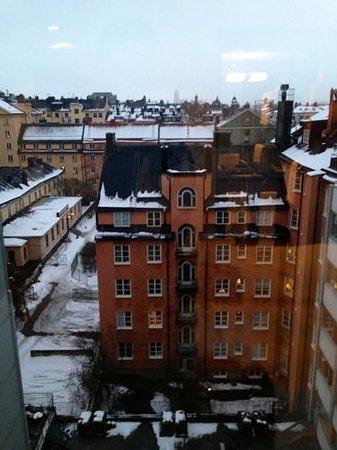 Clarion Hotel Amaranten:                   utsikten