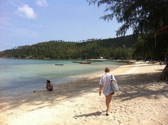 Salad Buri Resort & Spa:                   the beach                 