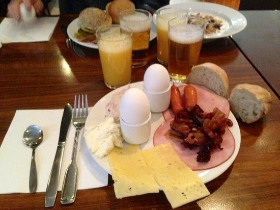 Clarion Hotel Amaranten:                   frukosten
